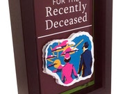 Beetlejuice Handbook for the Recently Deceased replica Tim Burton 3D Art