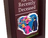 Beetlejuice Handbook for the Recently Deceased replica Tim Burton 3D Art