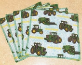 Cloth Wipes- John Deere- Set of 5