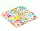 "Happy Flappers 5"" Squares Charm Pack by Kelly Panacci for Riley Blake, 21 pieces"