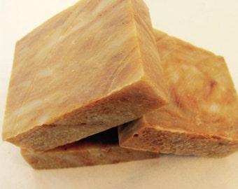 PUMPKIN PIE Soap -  Organic Ingredients - Yummy - By Dirt Tribe