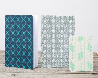 Patterned Journal Set #1