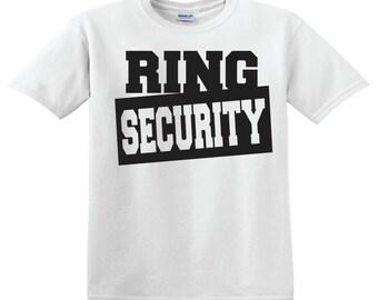 Ring Security - Ring Bearer Shirt
