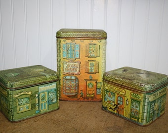 Vintage Cheinco Canister Set - Set of 3 - item #1166