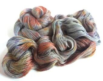Isadora. Superfine Alpaca Lace Yarn. Light From A Distant Sun.