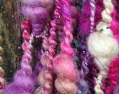 Handspun Art Yarn - Petrus Spark