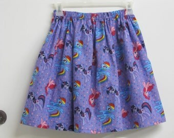 My Little Pony Skirt - Sizes (X-Small, Small, Medium, and Large)