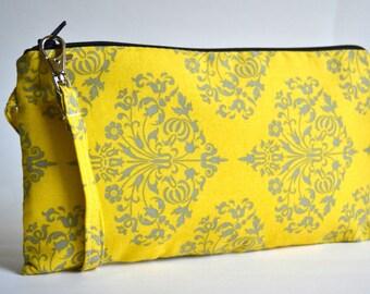 Wristlet Zippered Clutch, Clutch Purse, Bag, Purse, Wristlet Clutch,  Zippered Clutch, Wristlet Wallet, Clutch, Handbag