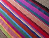 Guatemalan Fabric in Rosey Hues