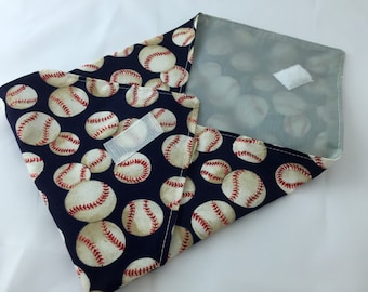 Reusable Sandwich Bag Wrap - Monster Baseballs