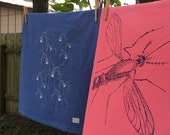 reserve listing for lunaticllamas -set of 2 daddy long leg towels