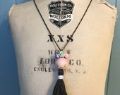 Happy Tassel Necklace