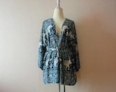 Elephant kimono,Oversize kimono jacket,kimono cardigan,Summer kimono,Women's Fashion Kimono,Shawl,Boho Clothing,hip length kimono