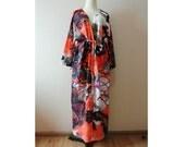 Printed kimono,Oversize kimono jacket,kimono cardigan,Summer kimono,Women's Fashion Kimono,Shawl,Boho Clothing,long kimono