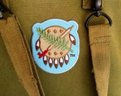 Oklahoma Osage Shield Oklahoma Patch - Official Embroidered Patch