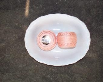DMC Perle Cotton 8 Oranges