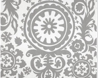 Premier Prints twill Suzani Storm Grey Fabric