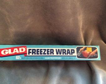 Vintage Freezer Wrap NOS