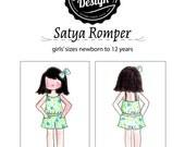 Satya Romper Pattern