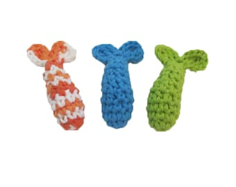 Catnip Shrimp Toy - Catnip Toy - Set of 3