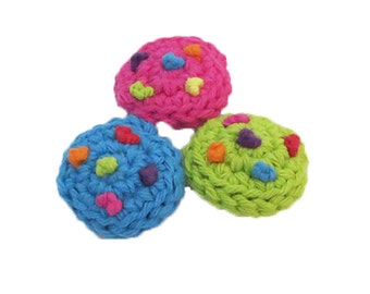 Catnip Candy Cookies Cat Toys - Set of 3 - Choose Your Colors