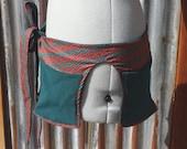 Simple Pockets - Autumn Geometric - Pocket Belt - Utility belt - Hip bag - Festival - Fanny pack