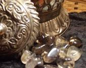 Smoky (Smokey) Quartz Tumbled Gemstone - Grounding, Centering, Removing Negativity, Protection, Energy