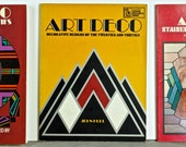 Group of 3 ART DECO DESIGN Books, Soft Cover, First Edition 1972, 1975, 1977