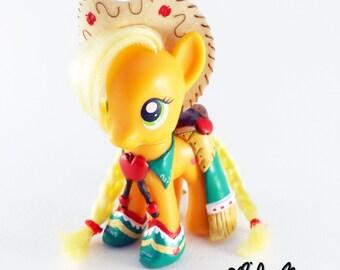 Custom My Little Pony Applejack in Gala outfit