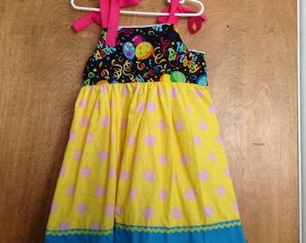 Girls Boutique Dress SAMPLE SALE Birthday size 4