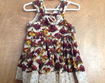 Girls Boutique Dress SAMPLE SALE Thanksgiving size 12 months