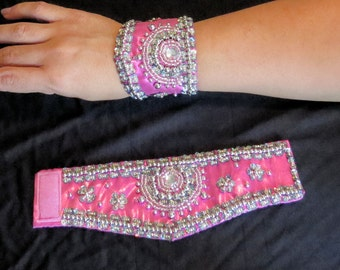 Bollywood / Belly Dance Wrist Cuffs