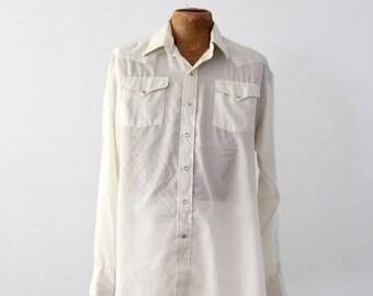 Panhandle Slim vintage men's western shirt