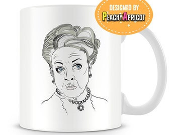 What is a Weekend Mug - Dowager - Coffee Cup - English - Funny - Quotes - Mug - Countess - Pop Culture - Lady - Gift - Maggie Smith - Mom