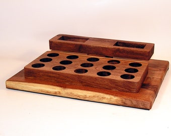 eCig Mod Box Holder Stand for eLeaf iStick and Attys Mesquite Wood
