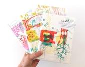 Recess Letterpress Notebook Set A5