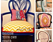 Custom Order for Dentalchic - Barrel Chair - Upholstered Chair
