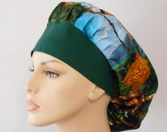 Jungle Book Bouffant Surgical Scrub Hat -The Jungle Book Scrub Hat Jungle Book Movie