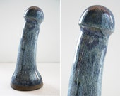 High fire fine art ceramic dildo 1013