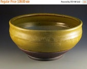 ON SALE Bowl With Texturing Near Bottom, Lovely Soft Green Glaze, Trimmed On Bottom, Ready To Ship