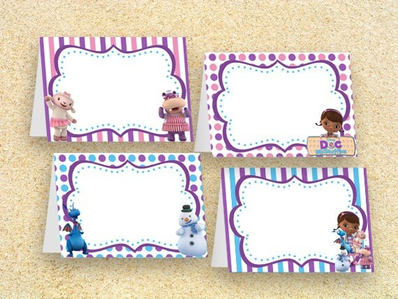 Nifty image within doc mcstuffins printable labels