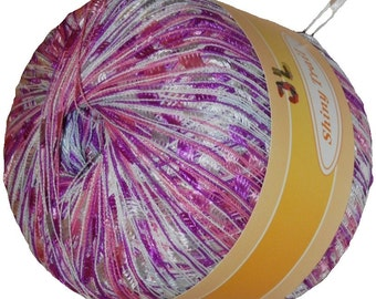 Shiny Trail Ladder Trellis Yarn col 23 Pink multi
