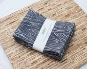 Large Cloth Napkins - Set of 4 - (N2819) - Dark Gray Modern Reusable Fabric Napkins
