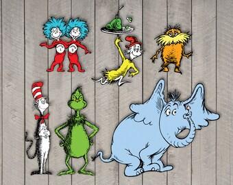 Dr. Seuss - Character Portrait Pack