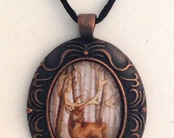 Stag Conundrum Painting