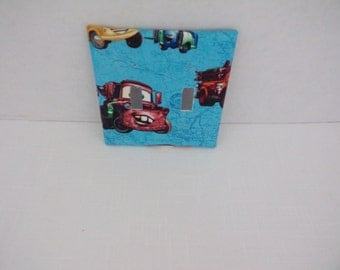 Disney CARS Two Toggle Light Switchplate Cover