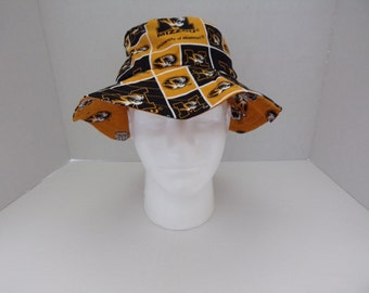 Reversible Missouri Tigers Bucket Hat