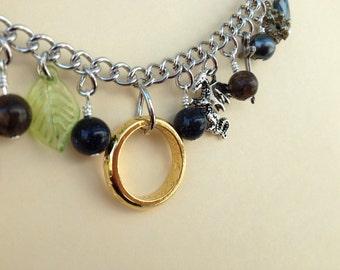 "Fantasy and Fandom 17"" Charm Necklace"