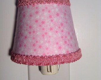 Starry Pink Night Light