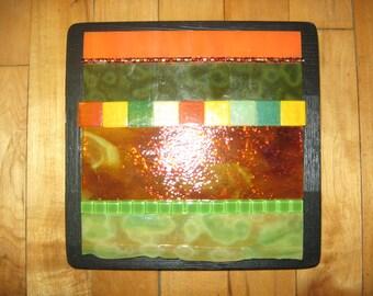 Orange and Green Mosaic